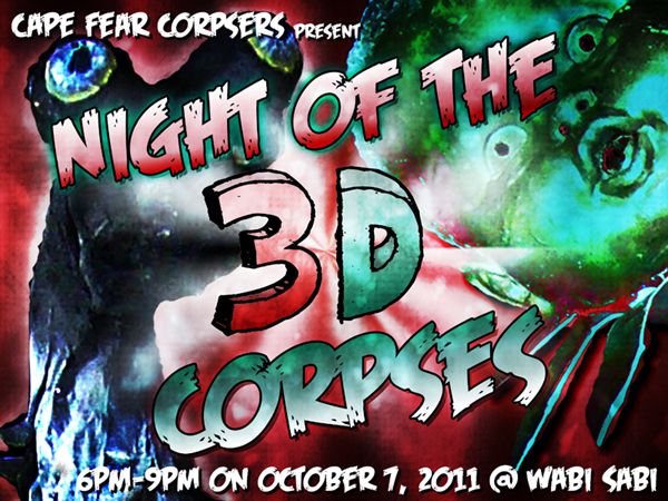 Night of the 3D Corpses